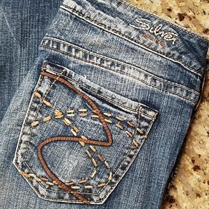 Extra-long Silver Frances jeans